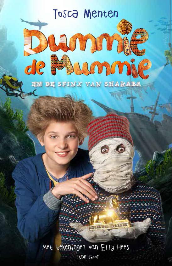 Filmeditie Dummie de mummie en de sfinx van Shakaba